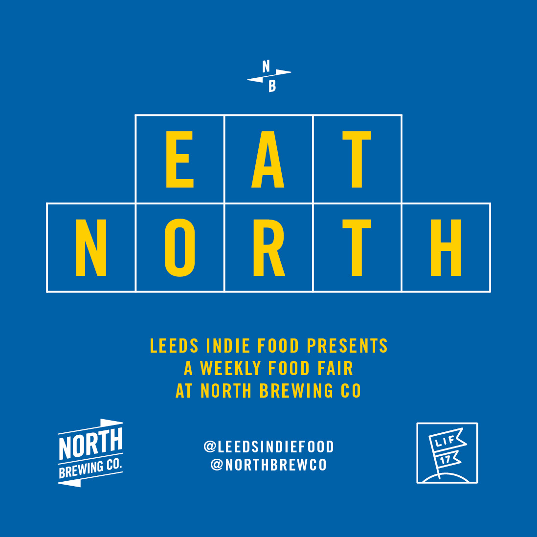 EAT NORTH square