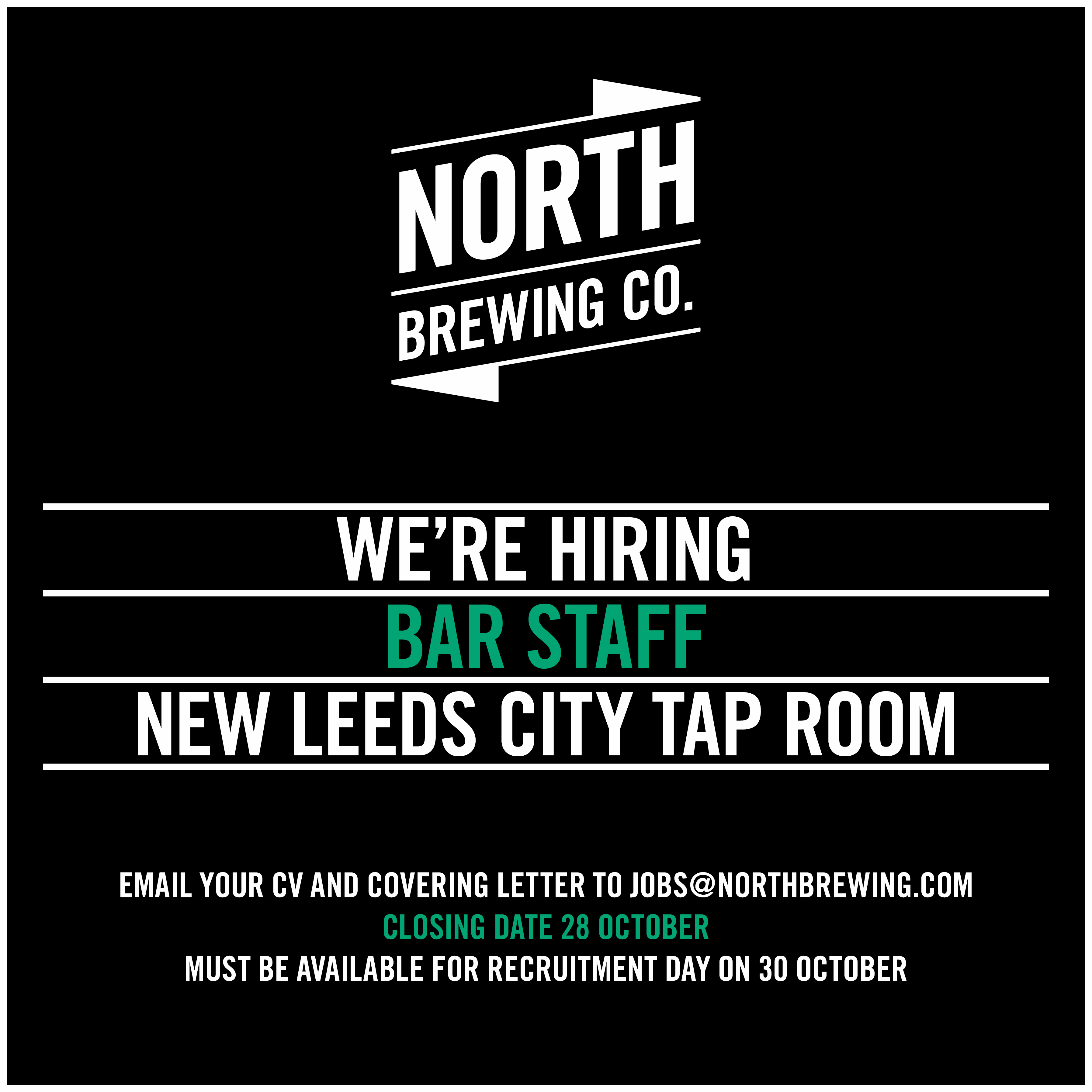 WERE HIRING BREWERS BREWERY ASSISTANT WAREHOUSE